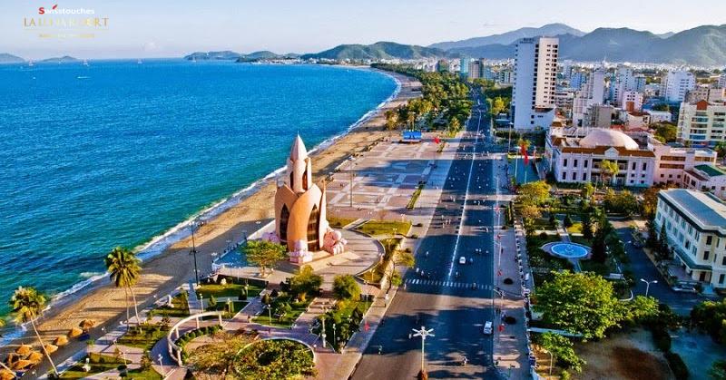 trung tâm thành phố Nha Trang