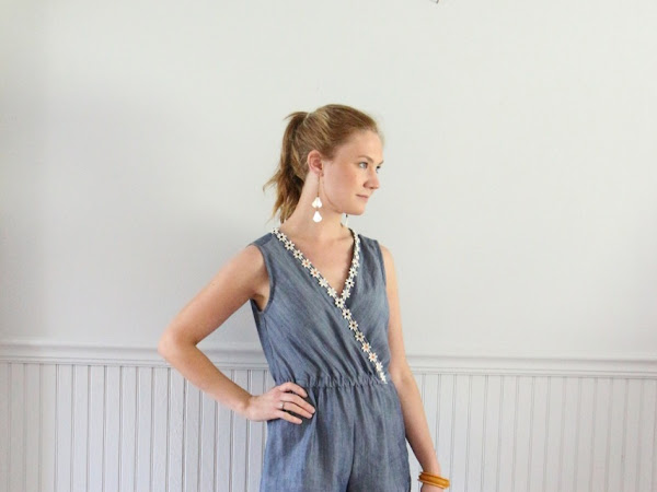 Chambray Romper: McCall's M7577
