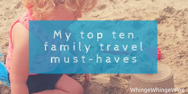 My top ten family travel essential must-haves