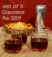Ocean Lyra 170 ml Juice Glass - Set Of 6 Rs 389 Free Ship at Pepperfry