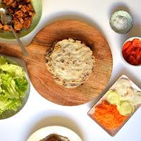 Pão pita de trigo sarraceno