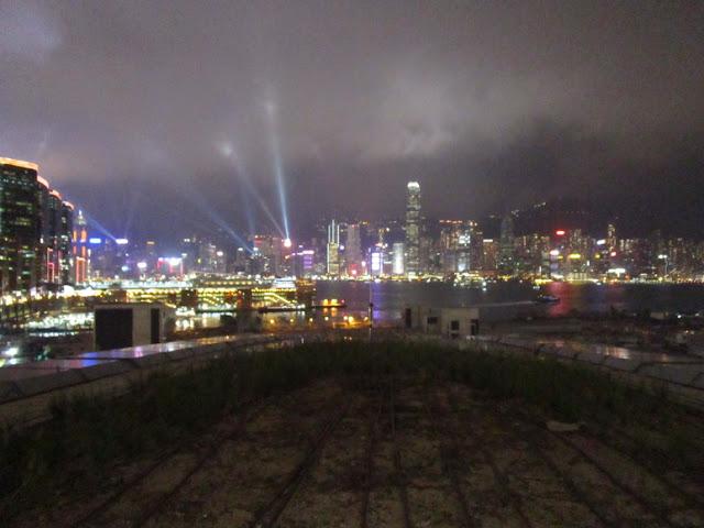 西九龍駅 景観台からの夜景