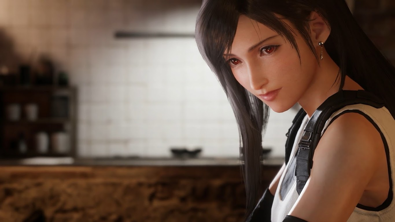2932x2932 Tifa Lockhart Final Fantasy Artwork Ipad Pro: Tifa Lockhart, Final Fantasy 7 Remake, 4K, #18 Wallpaper