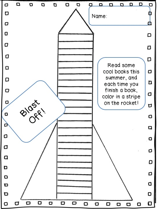 Read~Write~Create : Blast Off to Summer and Read Some Books!