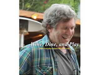 Robert Kamen of Kamen Vineyards is a regular visitor to the Harvest Moon Cafe in Sonoma, California