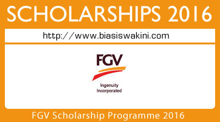 FGV Scholarship Programme 2016