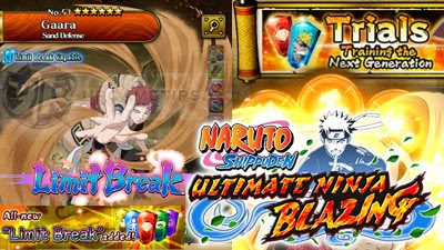 NARUTO: Ultimate Ninja Blazing - How To Use Limit Breaks on