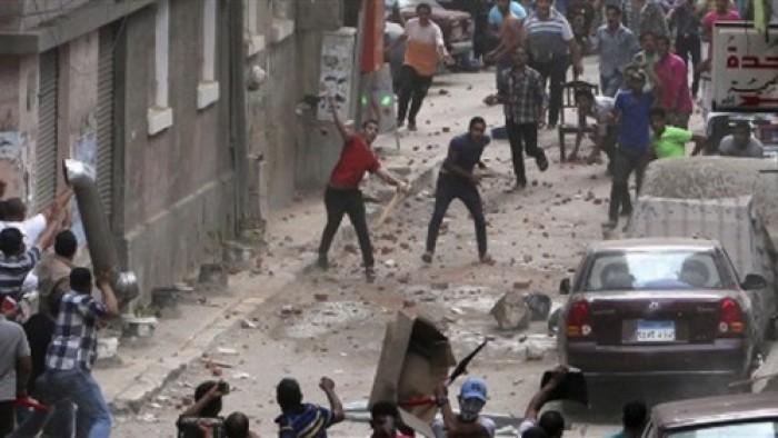 «حرب الشوارع».. وسقوط عدد من المصابين فى اشتباكات بالأسلحة بعين شمس