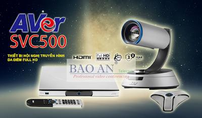 Thiết bị hội nghị truyền hình AVer SVC500 giải pháp đa điểm tốt nhất