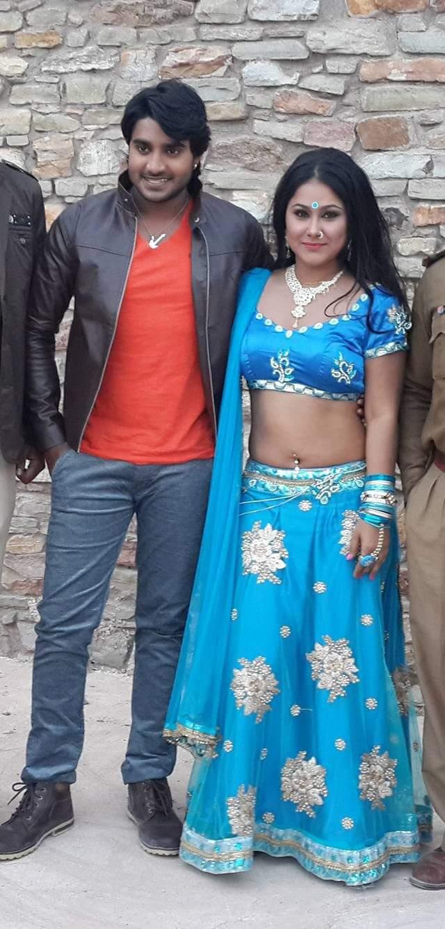 Priyanka and Chintu Song shoot for Deewane