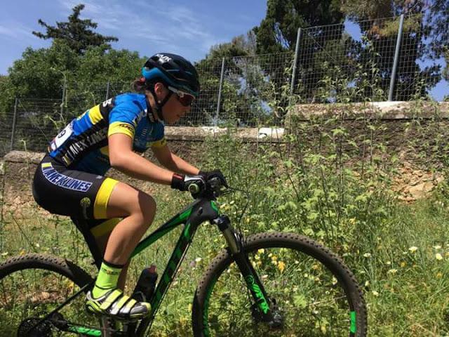 Χρυσό η Λιοδάκη στο Βαλκανικό ορεινής ποδηλασίας