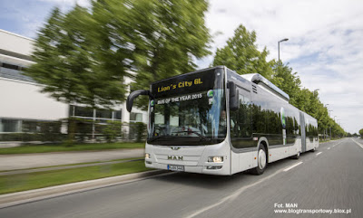 MAN Lion's City GL CNG, Bus of the Year 2015
