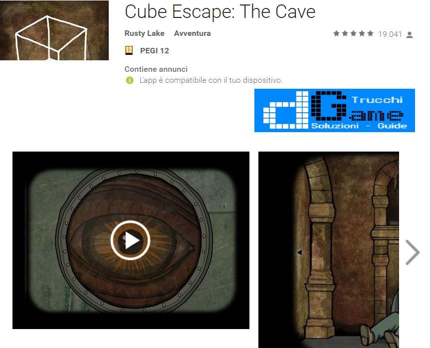 Soluzioni Cube Escape: The Cave livello 1 2 3 4 5 6 7 8 9 10 | Trucchi e  Walkthrough level