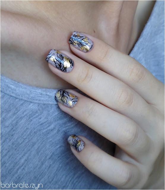 paznokcie w piórka
