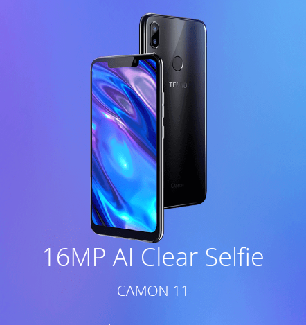 TECNO Camon 11 Pro Specification and Price