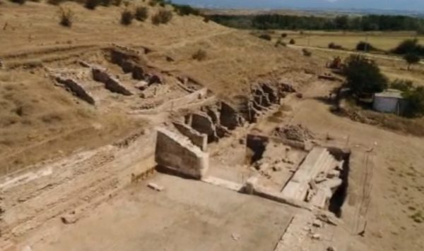 Ancient gold necklace found at Heraclea Sintica site in Bulgaria