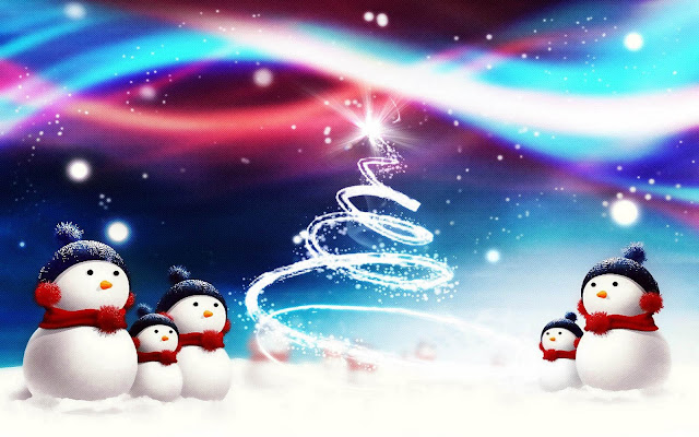 Christmas Snowman HD Wallpapers Download Free