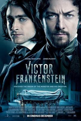 Victor Frankenstein 2015 DVD R1 NTSC Latino
