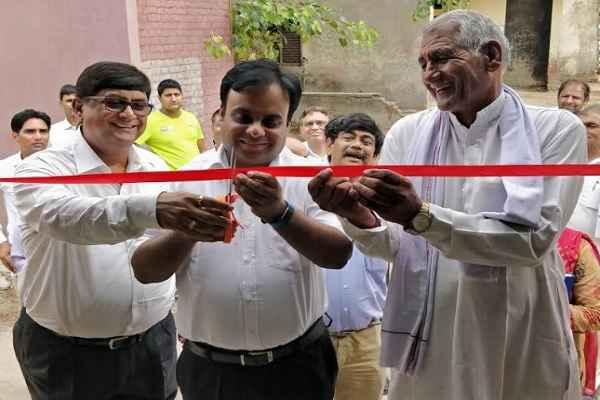 faridabad-dc-atul-kumar-inaugurate-nimka-school-2-room-by-ntpc