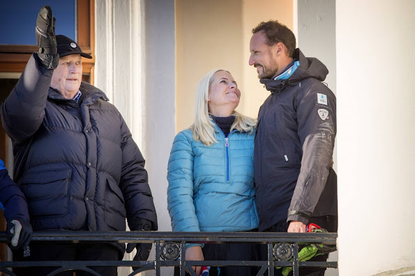 King Harald V and Queen Sonja of Norway, Crown Princess Mette-Marit of Norway and Crown Prince Haakon of Norway, Prince Sverre Magnus of Norway, Princess Ingrid Alexandra of Norway, Princess Märtha Louise