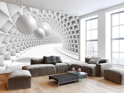 Stylish 3d wallpaper for walls 2019