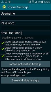 Smartphonelogs APK Aplikasi mata-mata Android