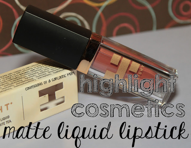 Highlight Cosmetics Matte Liquid Lipstick in Terracotta Dream