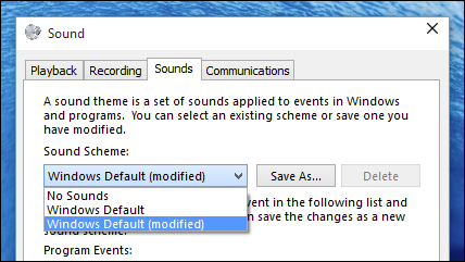 Sound Dialog Box To Remove System Sounds