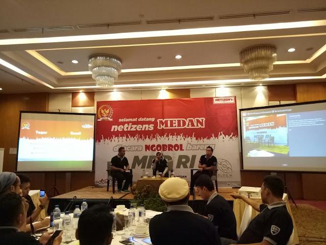 Netizen Medan Nongkrong Bareng MPR RI