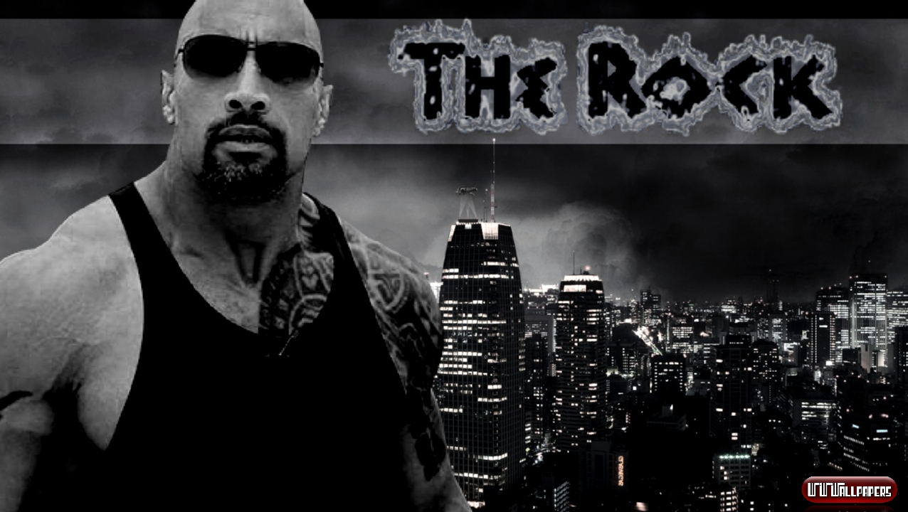 Wwe The Rock HD Wallpapers 2012