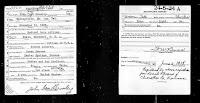 John Leo Brumley WWI Enrollment