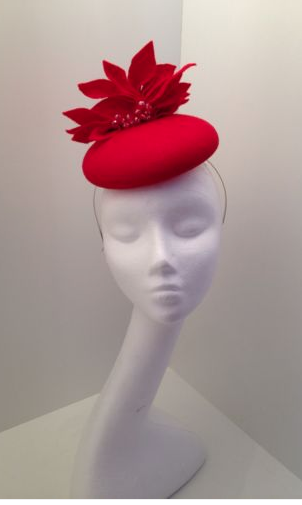 Red Black Sequin Fascinator  37  ebay.co.uk c9b1d2c7ad3