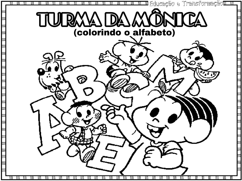 Atividades Escolares Colorindo O Alfabeto