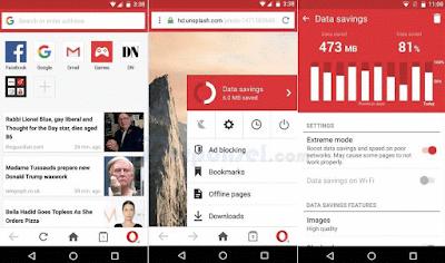 (Info) 10 Aplikasi bwoser Android Terbaik dan Tercepat