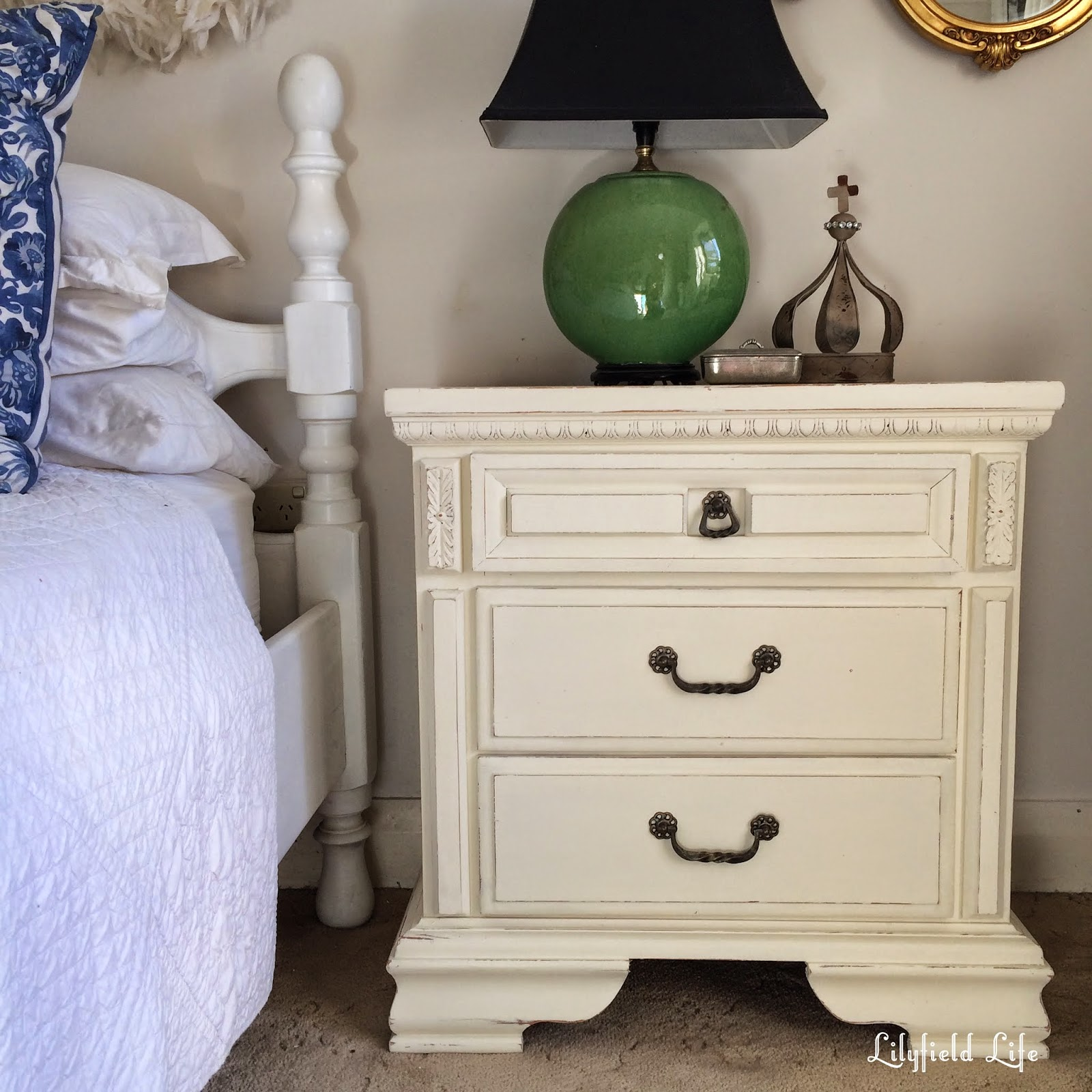 Lilyfield Life: White Painted Furniture: Before And After