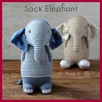 Elefante calcetines