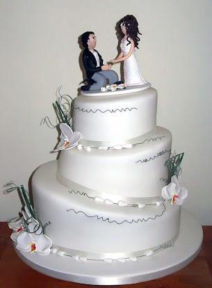 3 Tier Wedding Cakes 50 Stunning  Tier Wedding Cake