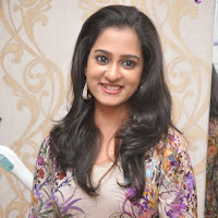 Cute Nanditha latest photos at naturals spa and salon launch