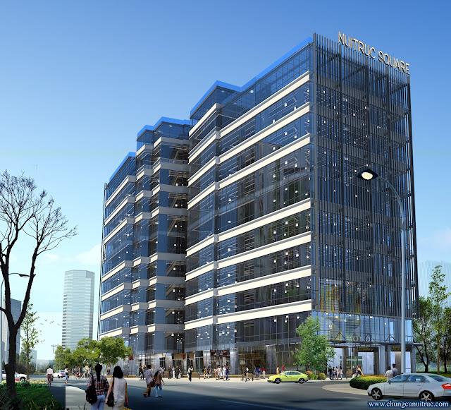 Phối cảnh dự án chung cư Núi Trúc Square