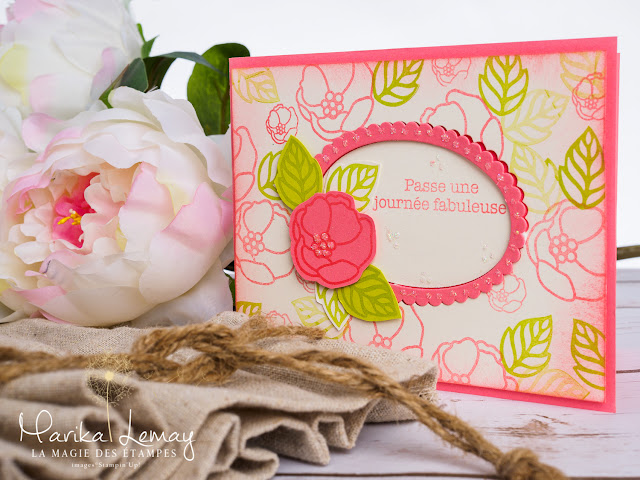 uo de cartes avec le jeu Douces notes Stampin' UP!