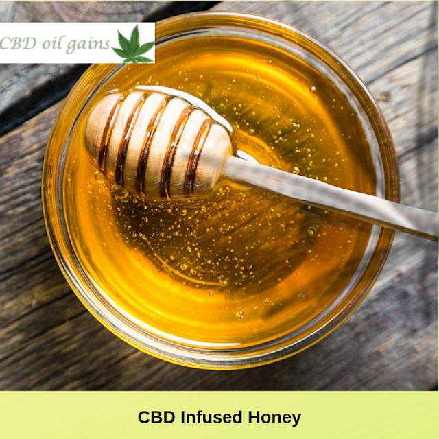 Cannabis Infused Honey