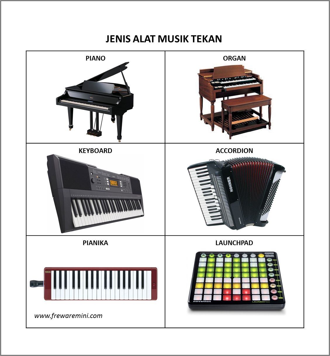 Koleksi Sketsa Menggambar Alat Musik Tradisional Terbaru