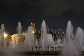 Magic Fountains Montjuic