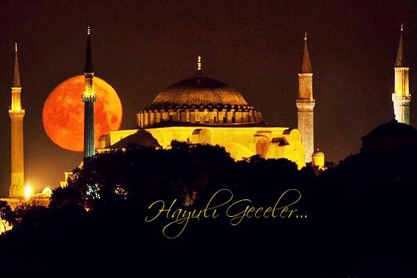 Dini İyi Geceler Mesajları