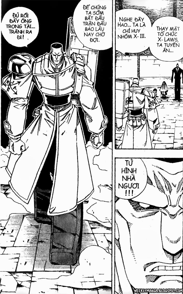 Shaman King [Vua pháp thuật] chap 137 trang 12