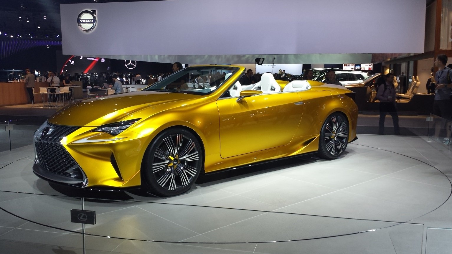 Pictured 2017 Lexus Lc 350 Convertible Source
