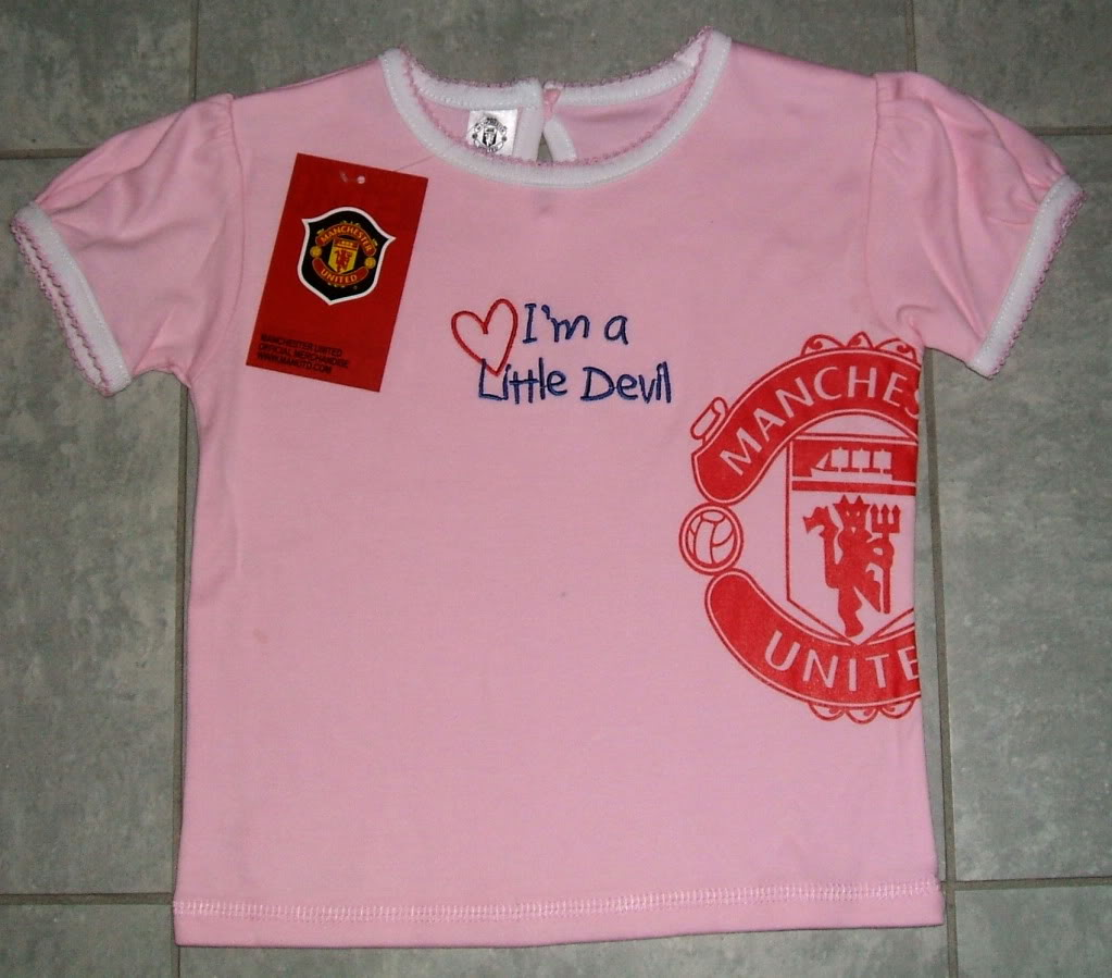 new arrival de6ff fb4bf SIMPLY ♥ Baby & Kids Boutique: MANCHESTER UNITED COLLECTION ...