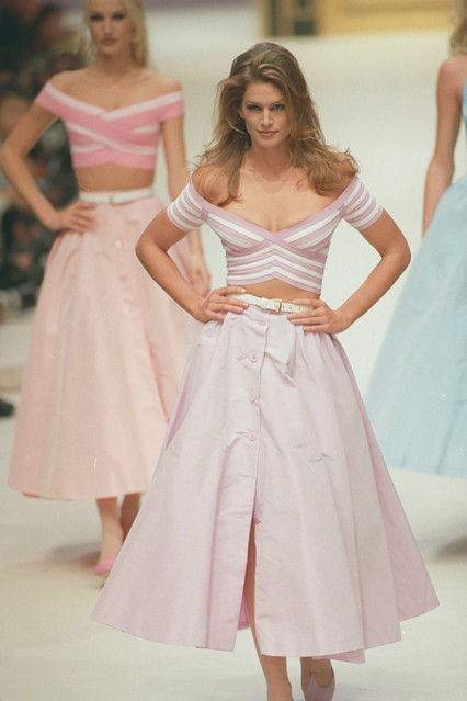 Cindy Crawford 1996 desfile