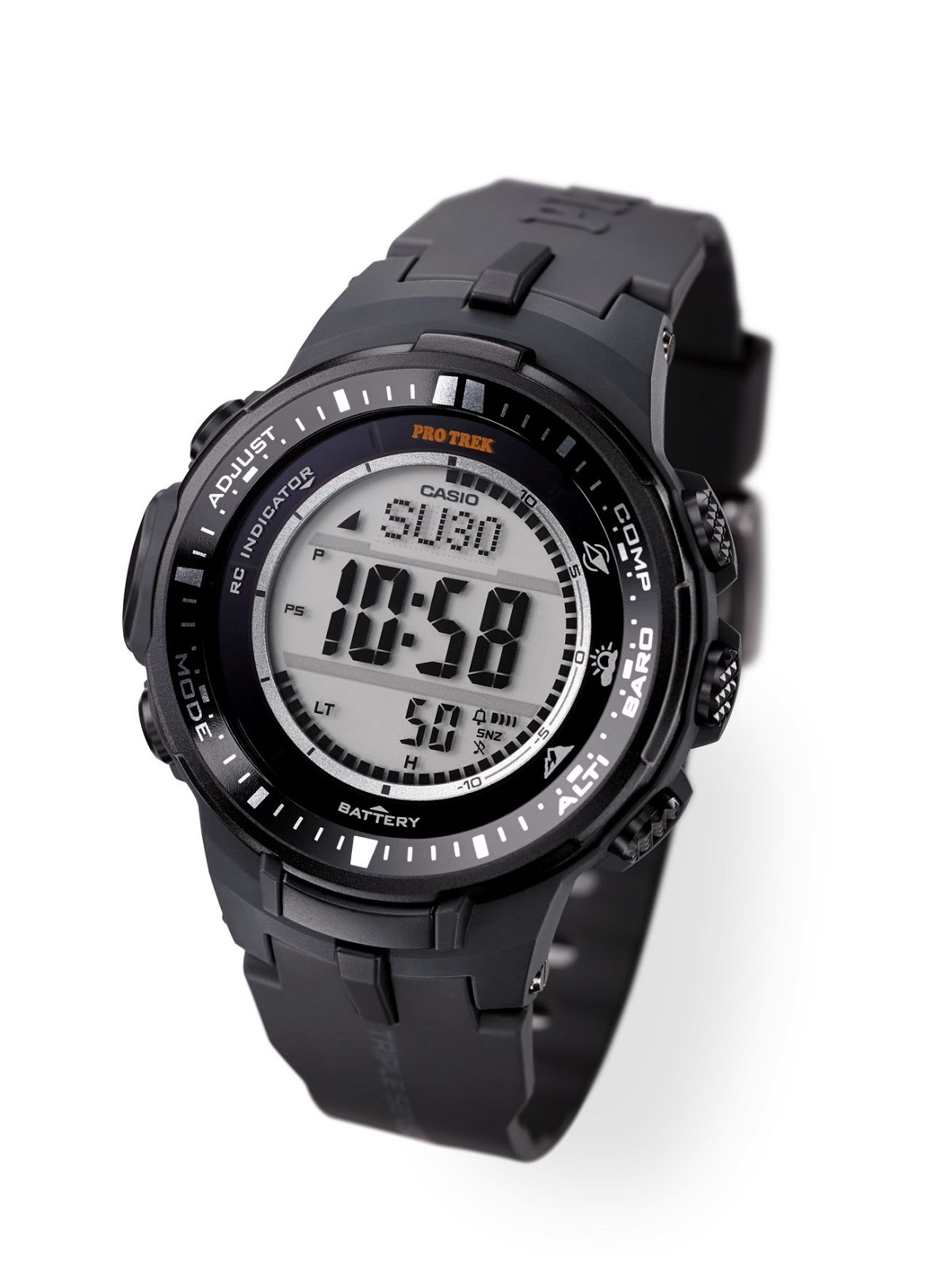b3588de69a1 The new PRW-3000 watch features an upgraded system for measuring compass  bearing