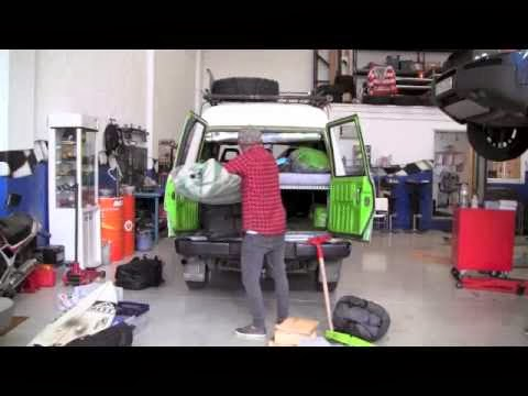 Tuning my car for an african solo road trip surfari by Kepa Acero